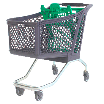 Supermarket hybrid trolley h220