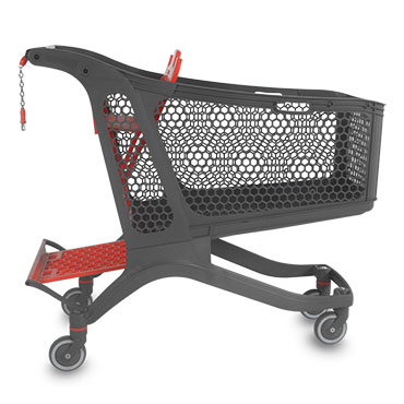Polycart shopping carts are a design of the Spanish manager Tomas Morcillo