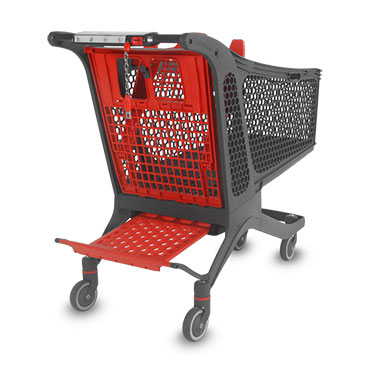 The Polycart P240 cart is one of the best-selling shopping cart models of the company