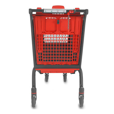The Polycart P240 shopping cart is a top seller. One of the best selling models in Spain