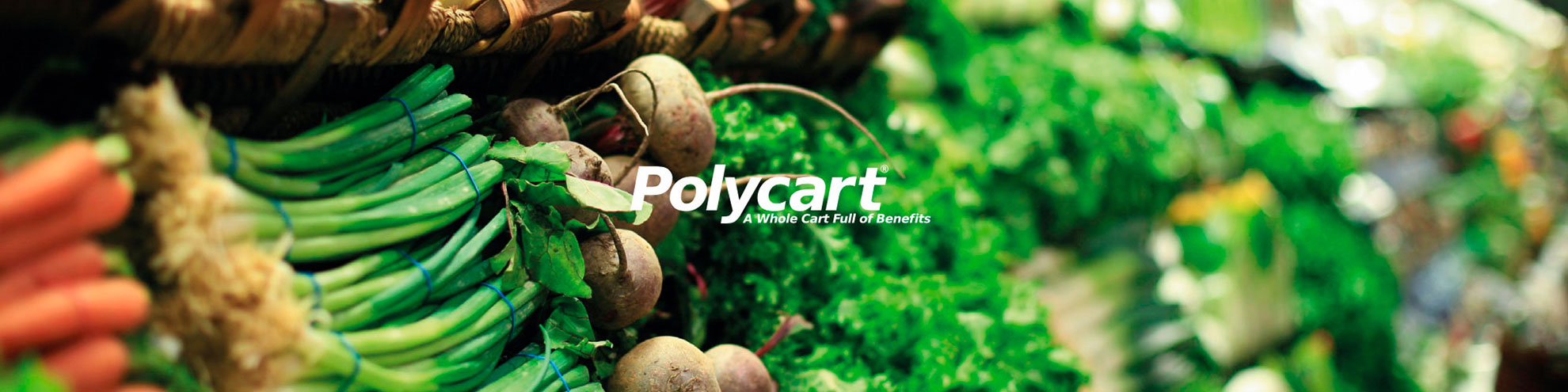 Vegetables Banner Polycart